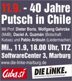 40 Jahre Jahre Putsch in Chile